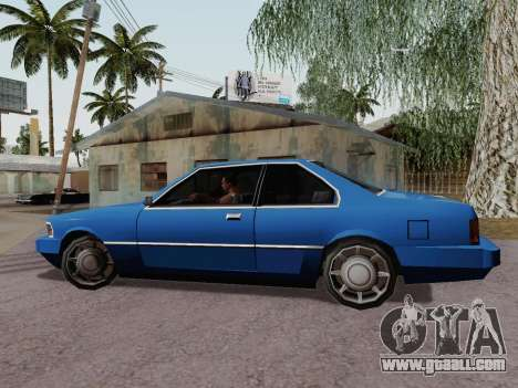 Sentinel Coupe for GTA San Andreas left view