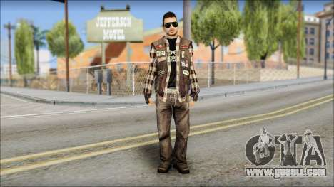 Biker from Avenged Sevenfold for GTA San Andreas