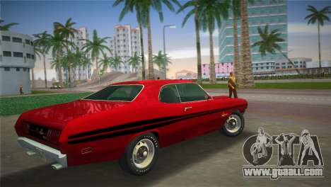 Dodge Dart Demon 340 1971 for GTA Vice City left view
