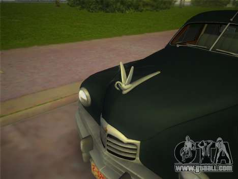 Packard Standard Eight Touring Sedan 1948 for GTA Vice City right view