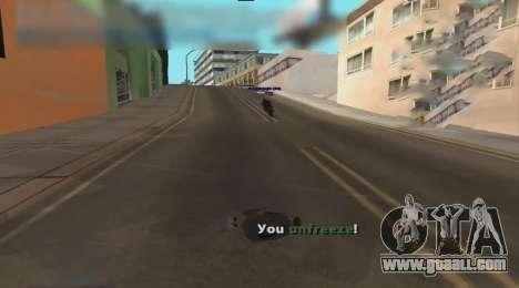 Unfreeze for GTA San Andreas third screenshot