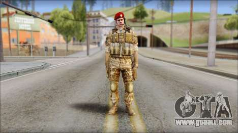 Desert Vlad GRU from Soldier Front 2 for GTA San Andreas
