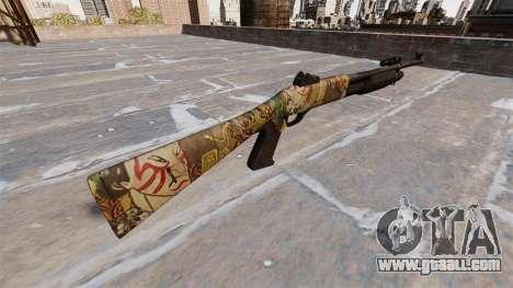 Ружьё Benelli M3 Super 90 ronin for GTA 4 second screenshot