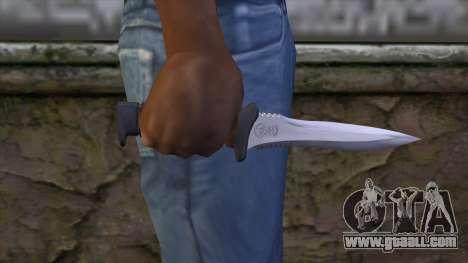 Knife from Resident Evil 6 v1 for GTA San Andreas third screenshot