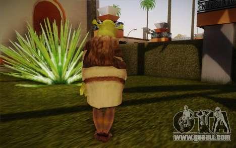 Shrek for GTA San Andreas second screenshot