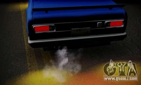 Nissan Skyline GC10 2000GT for GTA San Andreas interior
