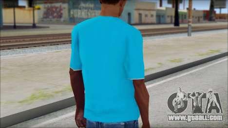 Go hard or Go home Shirt for GTA San Andreas second screenshot