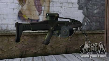 XM8 LMG Olive for GTA San Andreas second screenshot