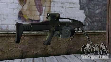 XM8 LMG Olive for GTA San Andreas second screenshot