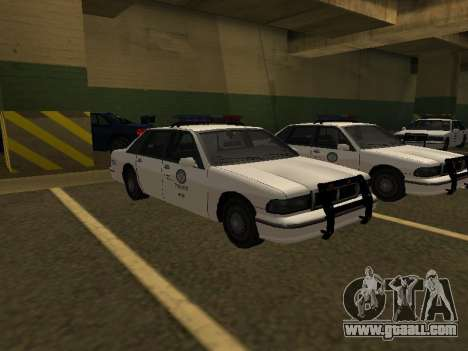 Police Original Cruiser v.4 for GTA San Andreas