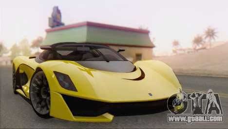 GTA V Turismo R for GTA San Andreas