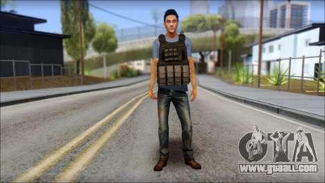 Skin Civil v1 for GTA San Andreas second screenshot