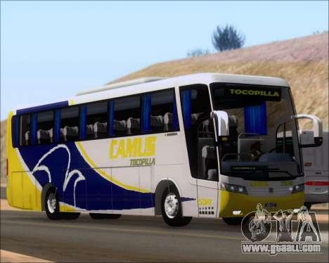 Busscar Vissta Buss LO Mercedes Benz 0-500RS for GTA San Andreas left view