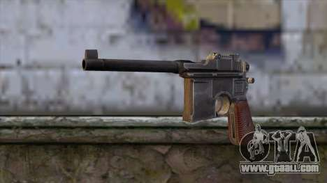 Mauser C-96 for GTA San Andreas