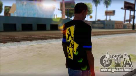 T-Shirt A-Style for GTA San Andreas second screenshot