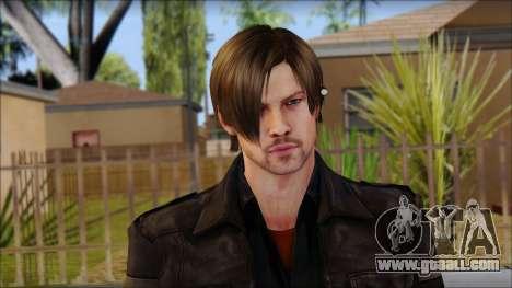 Leon Kennedy from Resident Evil 6 v2 for GTA San Andreas third screenshot