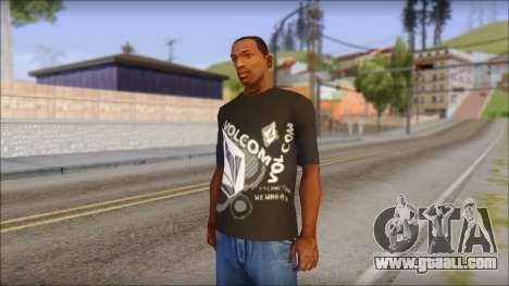 Volcom T-Shirt for GTA San Andreas