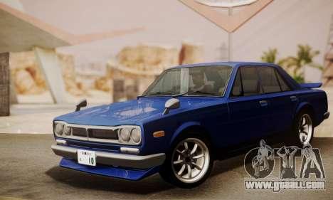 Nissan Skyline GC10 2000GT for GTA San Andreas