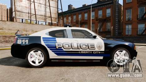 Dodge Charger SRT8 2010 [ELS] for GTA 4 left view