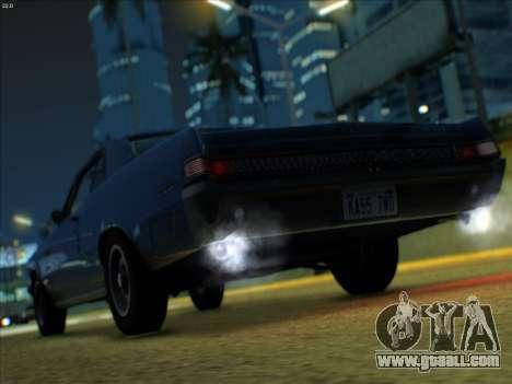 Lime ENB v1.1 for GTA San Andreas sixth screenshot