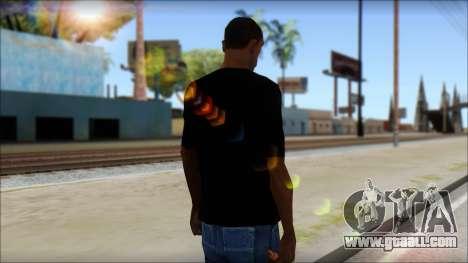 Evil T-Shirt for GTA San Andreas second screenshot
