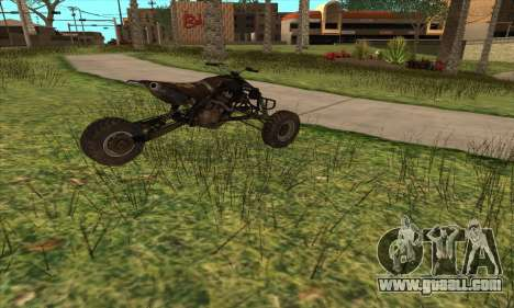Trike from Ravaged for GTA San Andreas left view