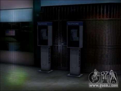 Street phone for GTA San Andreas sixth screenshot