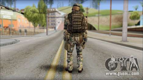 Nima GROM from Soldier Front 2 for GTA San Andreas second screenshot