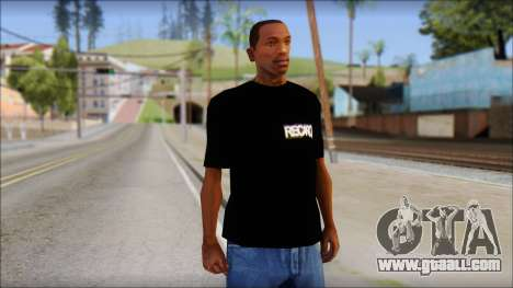 Recaro T-Shirt for GTA San Andreas