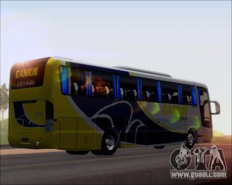 Busscar Vissta Buss LO Mercedes Benz 0-500RS for GTA San Andreas back left view