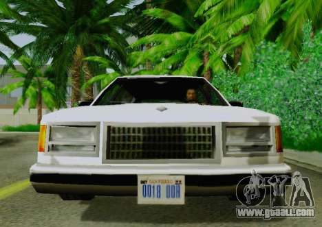 Washington Limousine for GTA San Andreas right view