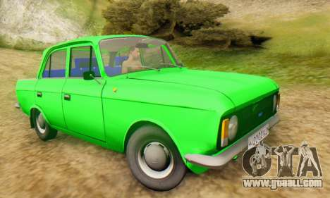 Moskvich 412 [DSA] for GTA San Andreas right view