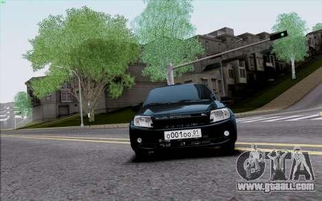 Lada 2190 Granta for GTA San Andreas left view