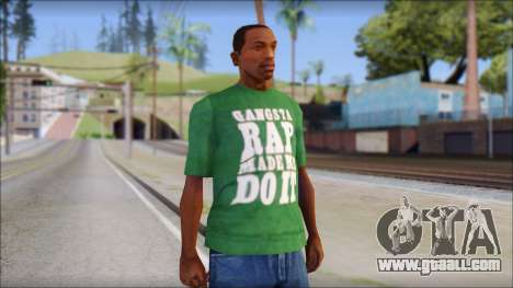 Ice Cube T-Shirt for GTA San Andreas