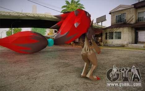 Zoroark from Pokemon for GTA San Andreas second screenshot