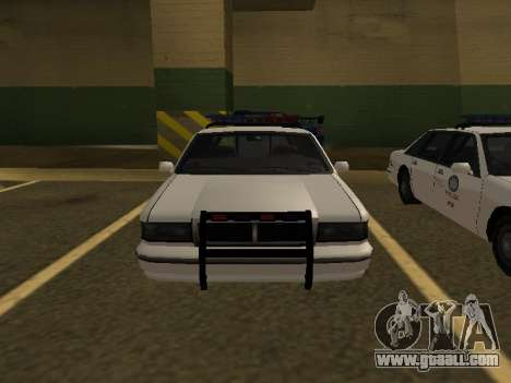 Police Original Cruiser v.4 for GTA San Andreas right view