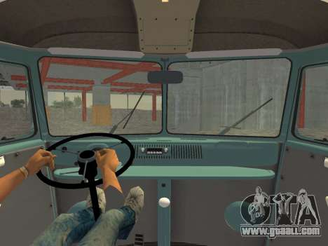 Volkswagen Type 2 T1 Van 1967 for GTA Vice City right view