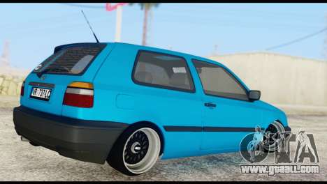 Volkswagen MK3 deLidoLu Edit for GTA San Andreas left view