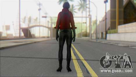 Ada Wong v1 for GTA San Andreas second screenshot