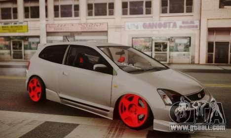 Honda Civic TypeR for GTA San Andreas