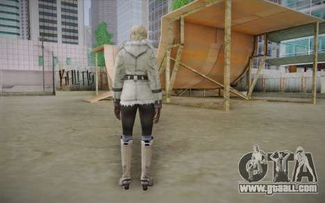 Sherry Birkin Europa from Resident Evil 6 for GTA San Andreas second screenshot