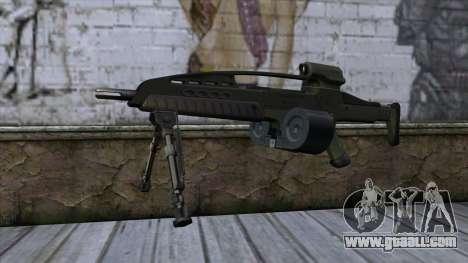 XM8 LMG Olive for GTA San Andreas