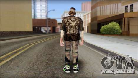 The Truth Skin for GTA San Andreas second screenshot