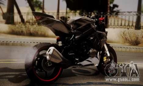 Kawasaki Z1000 2014 - The Predator for GTA San Andreas left view