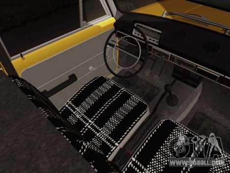 VAZ 2101 Pickup for GTA San Andreas inner view