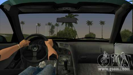 Mazda RX-7 Tuning for GTA Vice City back left view