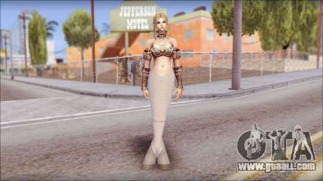 Mermaid Salmon Tail for GTA San Andreas