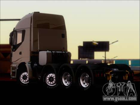 Iveco Stralis HiWay 560 E6 8x4 for GTA San Andreas right view