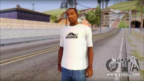Adio T-Shirt for GTA San Andreas