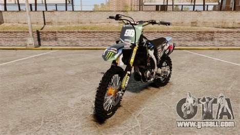 Yamaha YZF-450 v1.3 for GTA 4